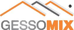 Logomarca Gessomix Produtos para Construção Seca